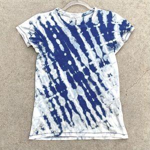 CUSTOM RAG & BONE Reverse Tie Dye T-Shirt XXS